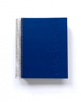 Agenda Azul Oscuro