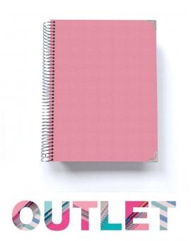 """""""OUTLET"""" Libreta A5 Rosa Nude"""