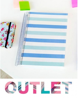 Bullet Journal Líneas Azul Outlet