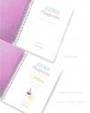 Agenda Semana Vista Rosa Purpurina Combinado OUTLET
