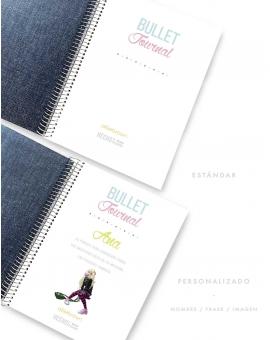 Bullet Journal Denim Combinado tamaño A5