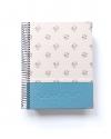 Agenda de Estudio Azul Purpurina tamaño A5