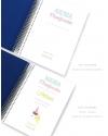 Agenda Personal Azul Oscuro Tamaño A5