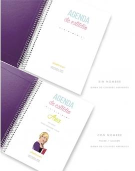 Agenda de Estudio Violeta tamaño A5