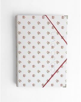 Carpeta Polipiel Pink Spring tamaño A4