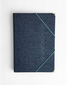 Carpeta Denim tamaño A4