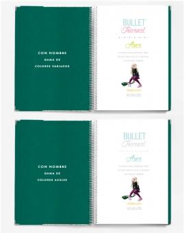 Bullet Journal Esmeralda Combinado tamaño A4