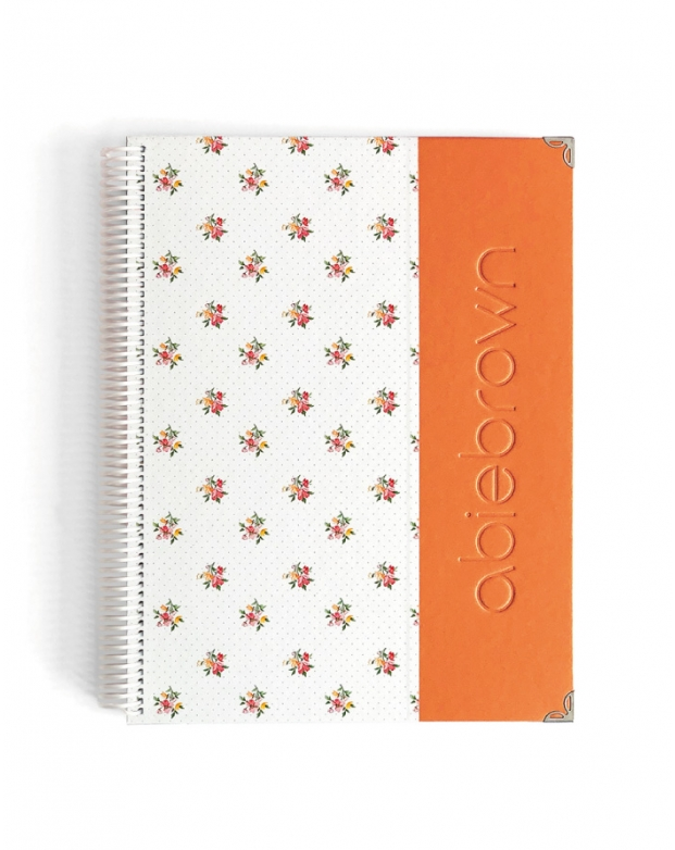 Bullet Journal Naranja Tamaño A4