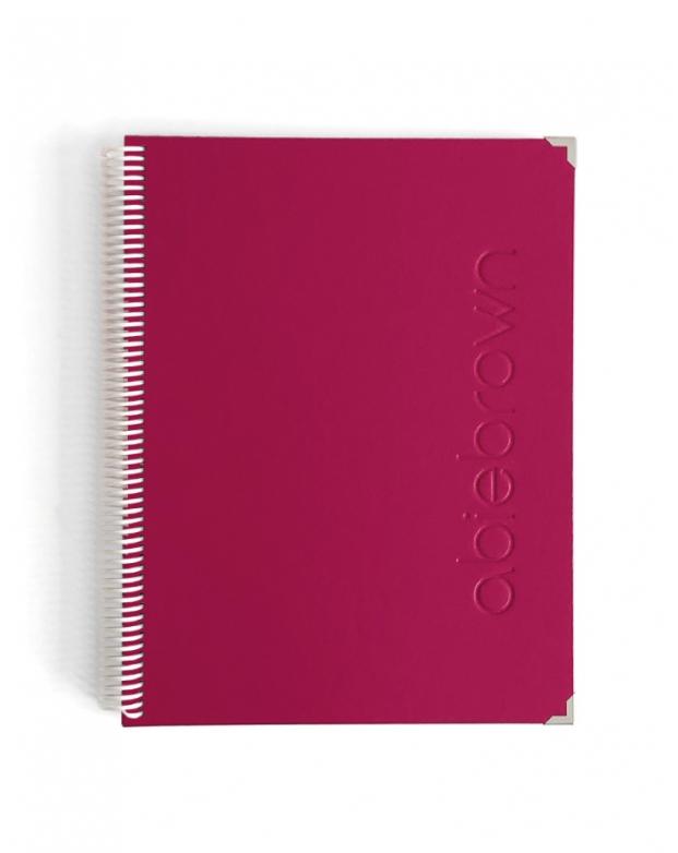 Bullet Journal Fucsia tamaño A4