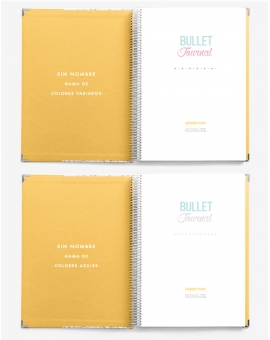 Bullet Journal Amarillo Outlet