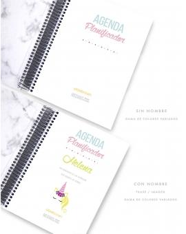 Agenda Personal A5 Mármol