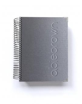 Agenda de trabajo A5 Silver