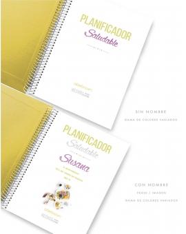 Planificador Saludable A5 Amarillo Combinado