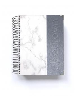 Planificador Saludable A5 Silver Mármol