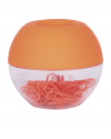 Dispensador de clips naranja