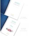 Agenda de trabajo A5 Azul Metalizado