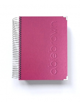 Agenda Personal A5 Rosa