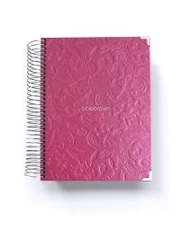Agenda de estudio A5 Rosa Tropical