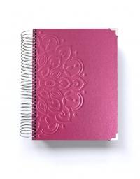 Agenda de estudio A5 Rosa Mandala