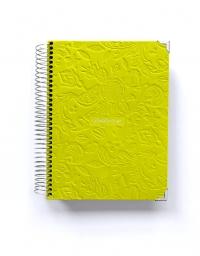 Agenda de Estudio A5 Pistacho Tropical