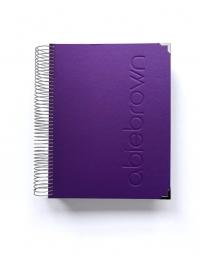 Agenda de trabajo A5 Violeta Liso