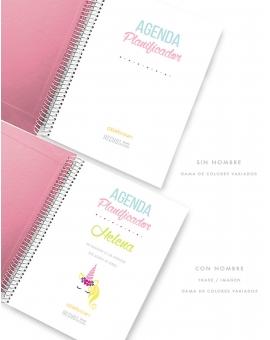 Agenda Personal Rosa Nude Tamaño A5