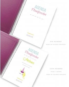Agenda Personal Malva Tamaño A5