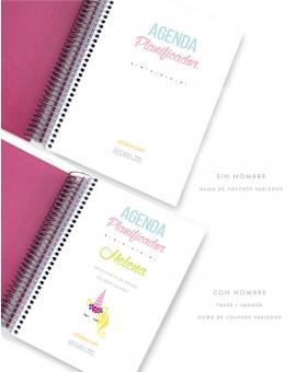 Agenda Personal Rosa Tamaño A5