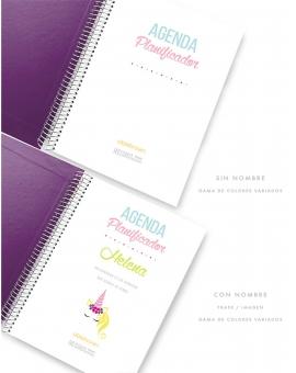 Agenda Violeta Tamaño A5