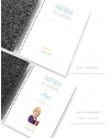Agenda de Estudio Luxury Negro tamaño A5
