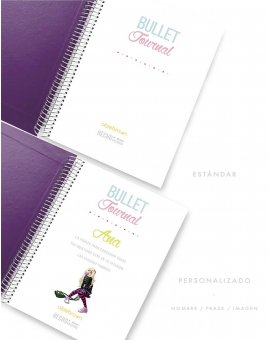 Bullet Journal Violeta Tamaño A5