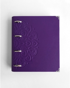 Bullet Journal Archivador Violeta