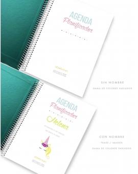 Agenda Personal Esmeralda Tamaño A5