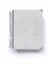 Agenda Personal Luxury Blanco Tamaño A5
