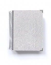 Agenda de trabajo A5 Luxury Blanco