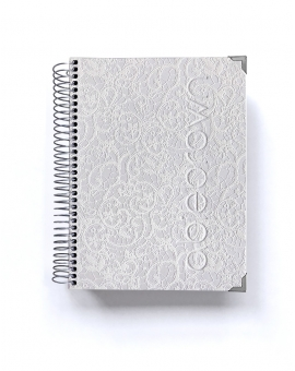 Agenda Personalizada Luxury Blanco