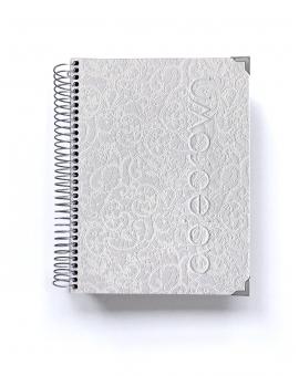 Organizador de oposiciones Luxury Blanco A5