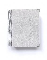 Organizador de oposiciones A5 Luxury Blanco