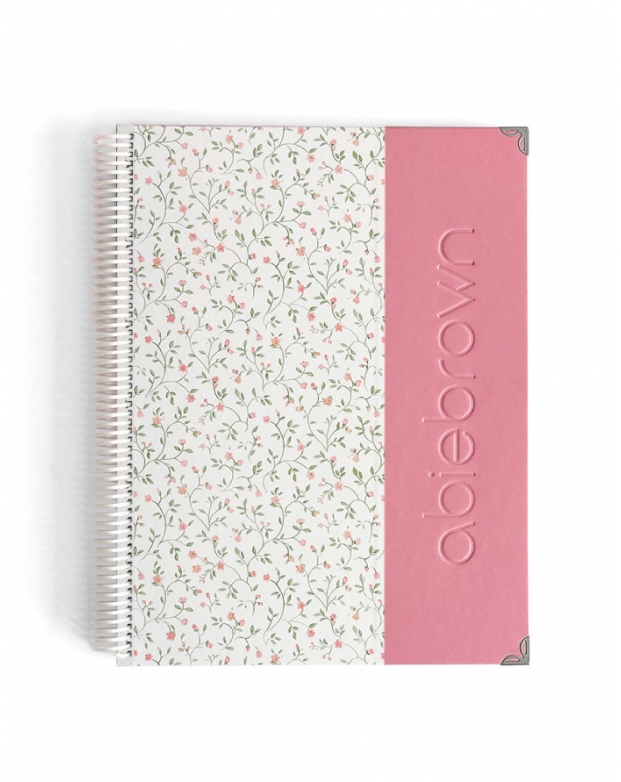 Agenda Personal A4 Rosa Nude Combinado