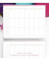 Agenda Personal A4 Fucsia