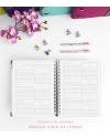 Agenda Personal Esmeralda Combinado Tamaño A5