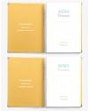 Agenda Personal A4 Amarillo Combinado