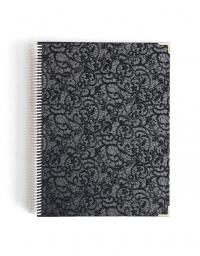 Agenda de Estudio A4 Luxury Negro