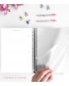 Agenda de Estudio A4 Malva Combinado