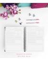 Agenda de Estudio Esmeralda Combinado tamaño A5