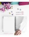 Agenda de Estudio Denim Combinado tamaño A5