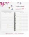 Agenda de Estudio A4 Fucsia