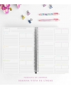 Agenda de Estudio A4 Denim