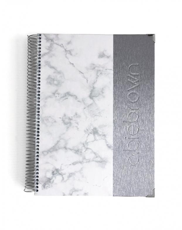 Agenda de Estudio A4 Silver