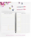 Agenda de Estudio A4 Rose Gold